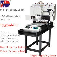 Hot selling 25000pcs capacity 8 colors PVC label dispensing machine