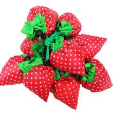 Promotion reusable folding shopping bag/folding fruit shape shopping bags