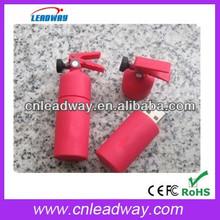 Customized fire extinguisher shape usb for promotion