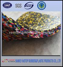 outdoor colored spray rubber flooring