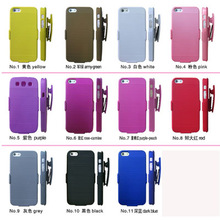 Available Colors With Dual Holster Combo Case For Iphone 4S