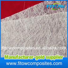 Heat insulation Alkali Free Glass Fiber E-glass Fiberglass Chopped Strand Mat for Centrifugal Casting Molding