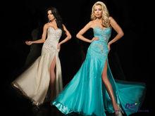 CPD104 a-line silhouette sweetheart neckline taffeta open leg plus size lime green prom dress