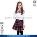 Lovely girl camisa de algodón uniforme de la escuela, el servicio del oem, sh-sr(1)