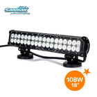 Hot sale off road roof light bar 4x4 double row led car roof rack light bar SM6024-108