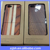 Natural Wooden Back cover for iphone5s,for wood iphone 5 case