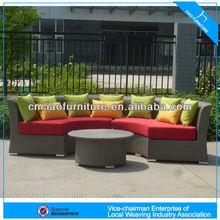 PE Rattan+ Alu Frame Leisure garden furniture set CF638