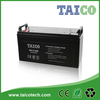 12v 120ah deep cycle battery for solar power storage system