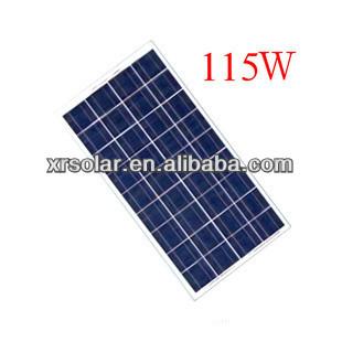 115W Poly-crystalline sillicon price per watt solar panels solar panel ningbo