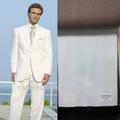 Hochwertige 100% wollstoff slim fit weiße hochzeit anzüge für männer