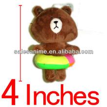 Wholesale Anime Takara Tomy Town Line APP Plush Doll Brown