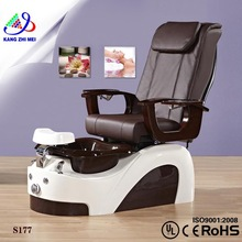 Wholesale sex salon pedicure spa chair/hot sale pedicure massage chair/pacific spa pedicure chair KM-S177