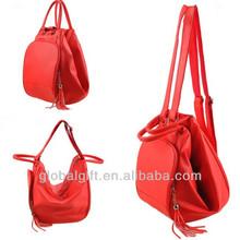 travel bag big volume fringe dumpling shape multi-function lady handbag