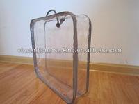 Brand high quality cheap plastic drawstring pvc bag