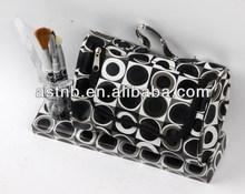 5pcs makeup brush set with bag/5pcs brush set w/mirror