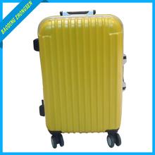 Hard trolley aluminium luggage case