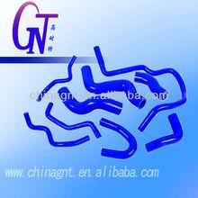 good quality blue color saab silicone radiator hose kit