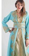 Hochwertige stilvolle marokkanischen kaftan für frauen, takshita, abendkleid