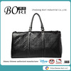 top quality anti-water and antiseptic PU leather weekend travel bag leather holdall