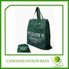 Wholesale nonwoven reusable eco foldable shopping bag
