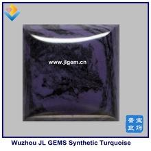 Large Hight Quality Synthetic Sugilite stone ,Square Cabochon Sugilite Gemstone