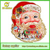 3D Paper Santa Claus Stickers for Window,Door or Wall
