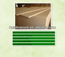 Supply thickness 21mm Plain MDF-Furniture Board/Medium Density hardboard