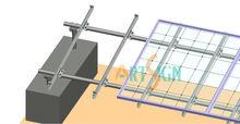 ground mount solar racking,solar pv ground mounting system,photovoltaic solar panels