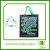 Used to be plastic bottle 100% recycled pet bag