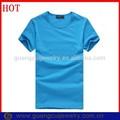 moda promozionali cotone semplice t shirt con slogan