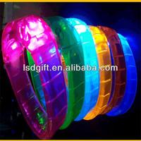 Customized electronic power balance bracelet