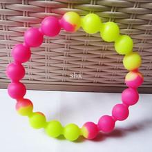 newly small ball like silicone promotional bracelets