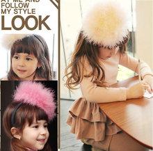 C81236A Korean original single genuine rabbit fur oversized hat