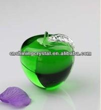 apple shape crystal accessory