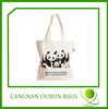 Durable promotional cheap canvas shopping bags