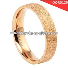 2014 hot sale gold plated wedding ring,satin surface function,dazzing and britght men's ring