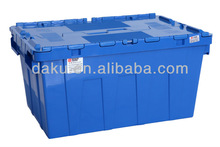 N6040/320DS Stack Nest Plastic Tote Box with Lids