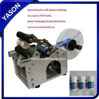 Semi-auto Round Bottle Labeling Machine, Semi-auto Labeler, Semi Automatic label applicator