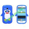 Penguin Silicone 3d Case for Samsung Galaxy s3 Mini i8190