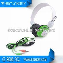 High-end sound Performance fuzzy earmuff headphone