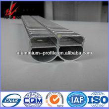 2014 vendita calda disegno speciale tubo di alluminio per il radiatore