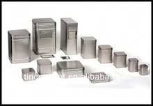 Customized designed small aluminum tin boxes for packaging,storage,display