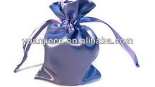 Excellent quality new arrival hot sell polyester satin pouch