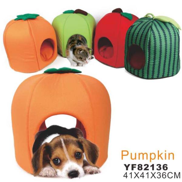 Pumpkin Shap Cheap Dog Bed