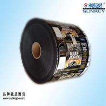 automatic beef jerkey packaging roll film