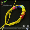 2015 top selling handmade in China lucky beads bracelet wholesale,dados