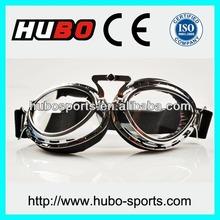 Split lens retro high quality designer motorcycle goggles for rider
