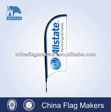 teardrop banner / bow flag