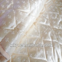 Satin fitted bedspread quilt