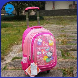 High Quality Fashionable Kids Trolley School Bag Wholesale